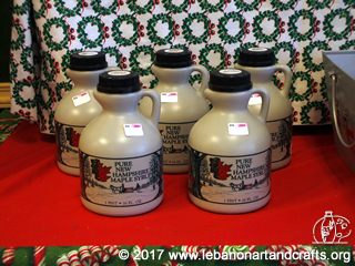 Maple syrup is made by Susan Cutting