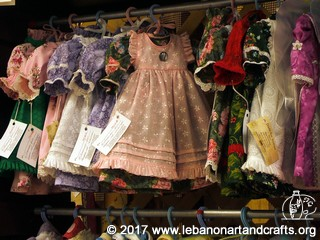 Here are examples of more dresses made by Janice Estes