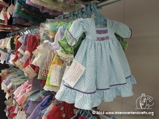 Janice Estes sewed this doll dress