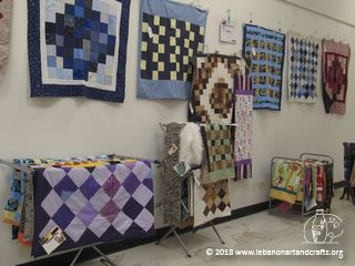 Shirley Wahl made these quilts